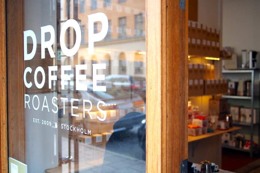 Photograph Drop Coffee Roasters, Södermalm, Stockholm by parentheticalpilgrim on 500px