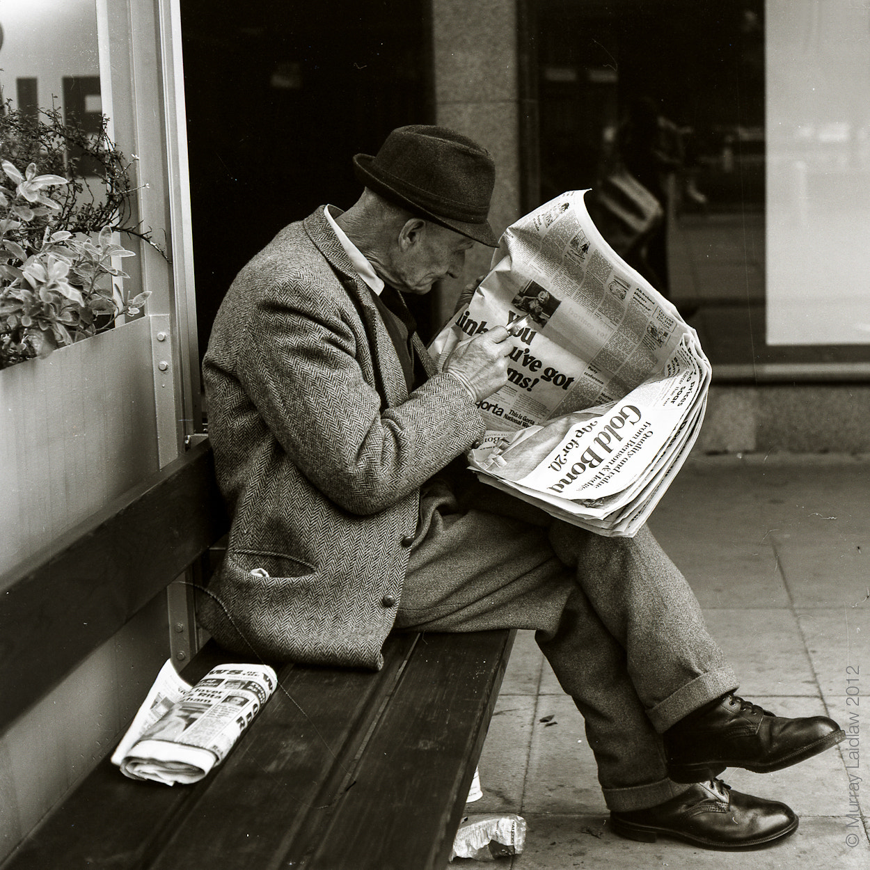 Photograph Sunday papers by Murray Laidlaw on 500px