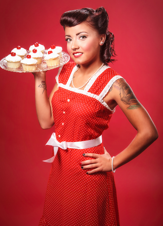 Photograph Cupcake Pin Up by Andy Martinez on 500px