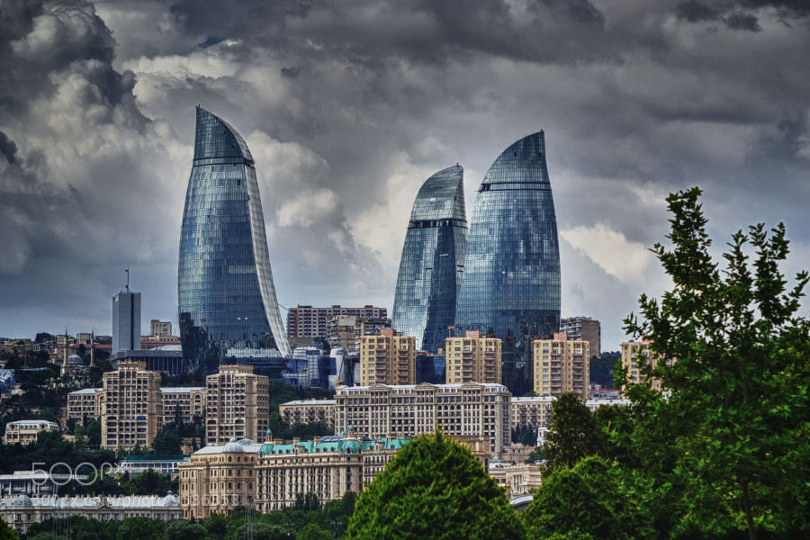 4 - Flame towers..