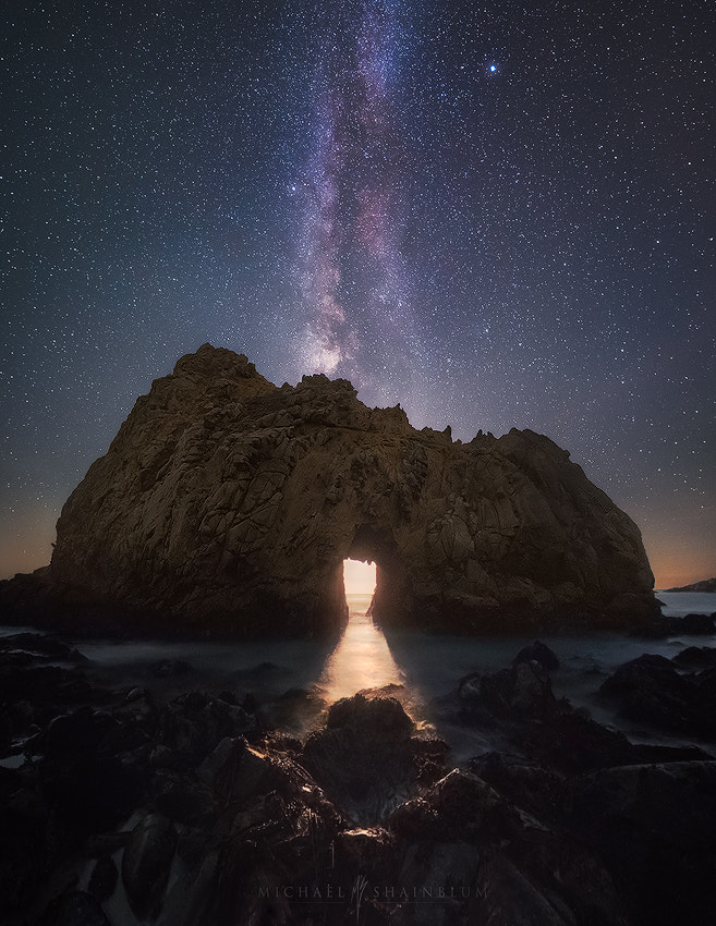 Temple of Moonlight by Michael Shainblum on 500px