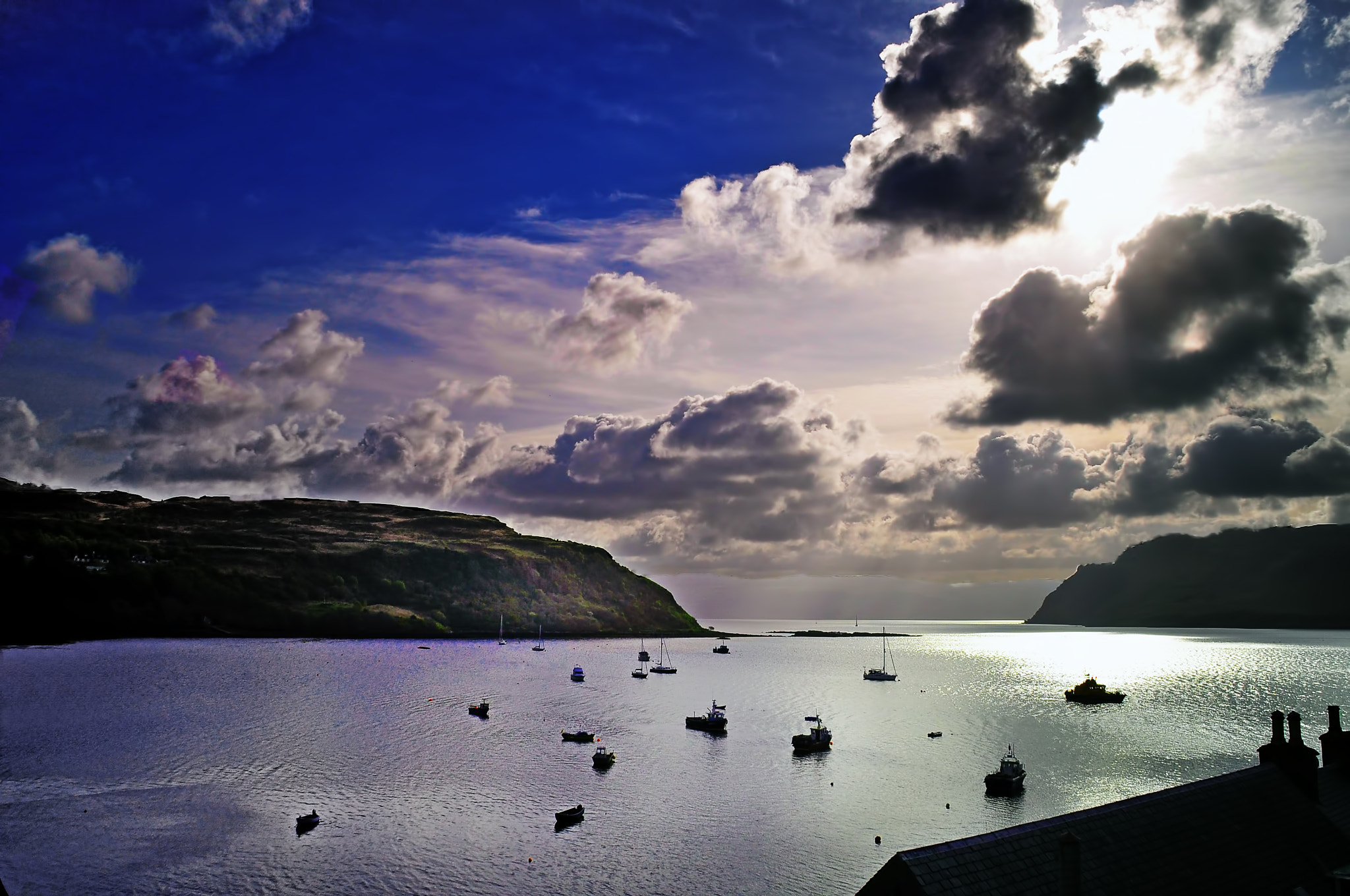 Photograph bay in Portree by Jozsef Balogh on 500px