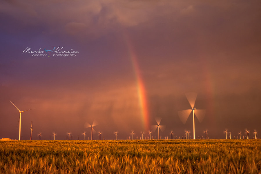 Photograph Radioactive rainbow by Marko Korošec on 500px