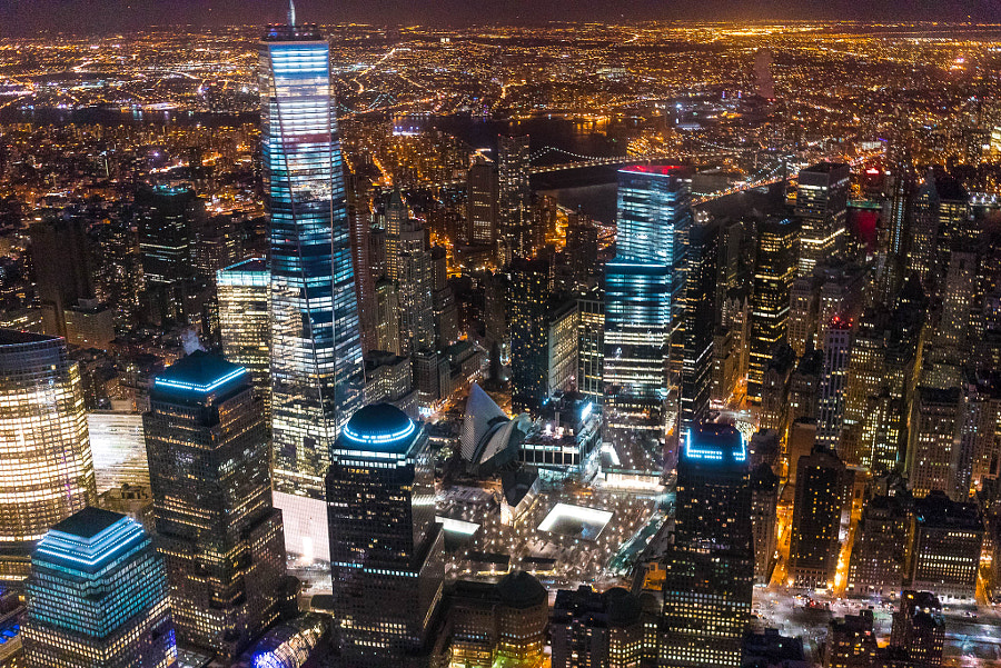 New York from Helicopter