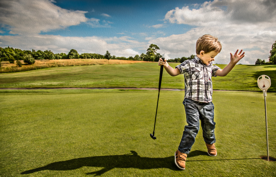 Photograph Hole In One by David A Lee on 500px