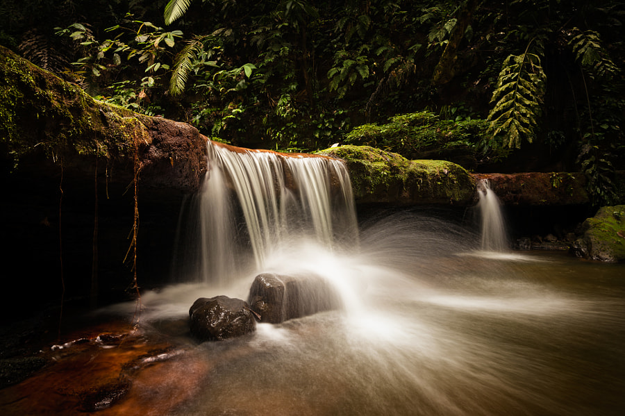 Upper Teraja Falls by Dean Mullin on 500px.com