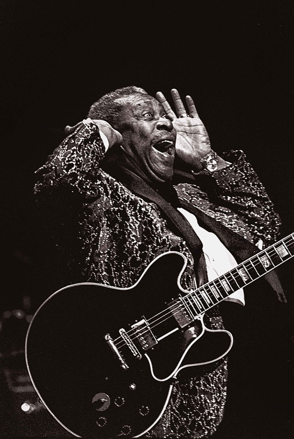 Photograph BB KING*- by warren KELLY on 500px