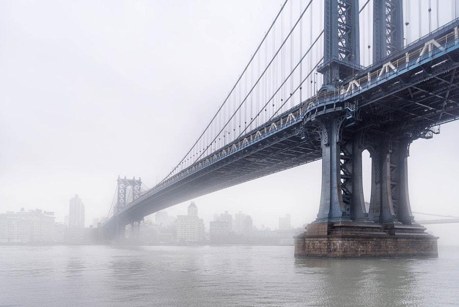 The Manhattan Bridge and Brooklyn