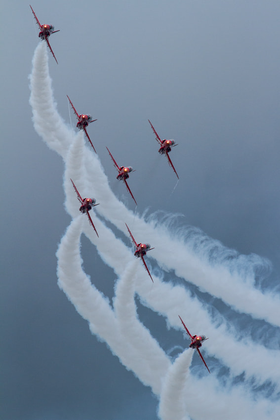 Red Arrows @ RIAT 2012