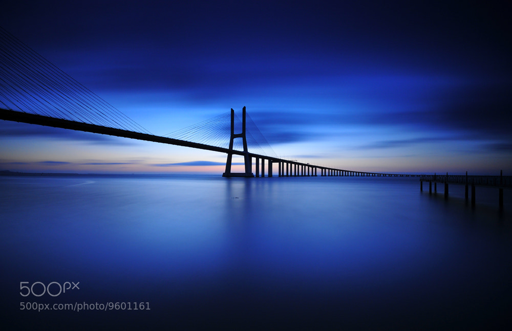 Photograph Sunrise at Vasco Gama Bridge by Jose Pombo on 500px