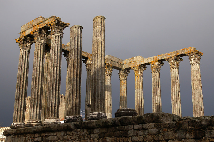 Photograph Diana's Temple by José Rocha on 500px