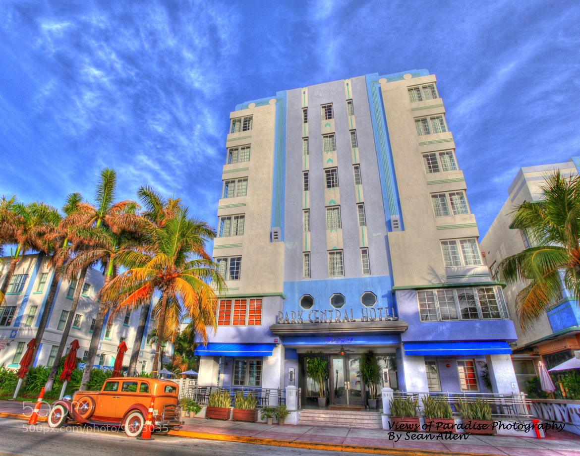 Photograph Park Central Hotel South Beach by Sean Allen on 500px