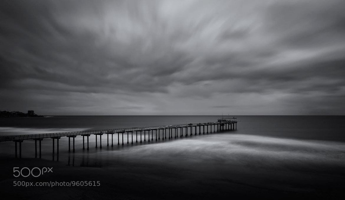 Photograph Scripps Pier by Justin Balog on 500px