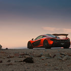 Постер, плакат: Otherworldly | McLaren P1