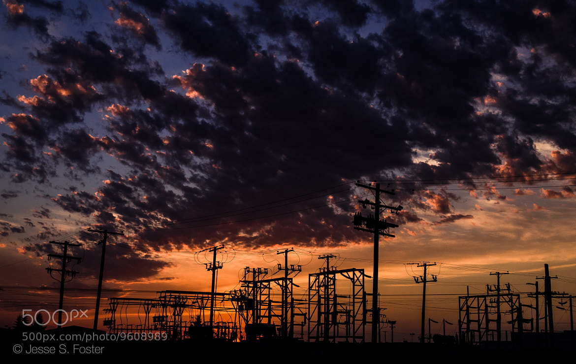 Photograph Electric Skies by Jesse S. Foster on 500px
