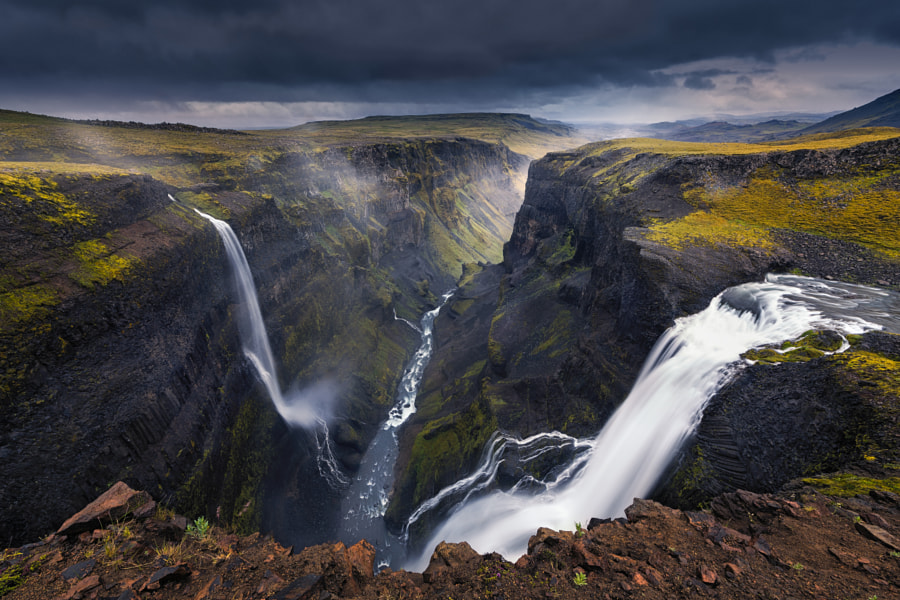 Photograph Haífoss by Mohammed ALSULTAN on 500px