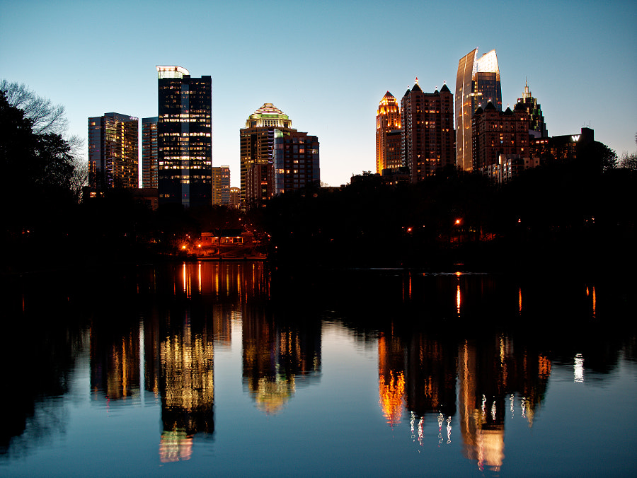 Photograph Atlanta at Dusk by Adam Reid on 500px
