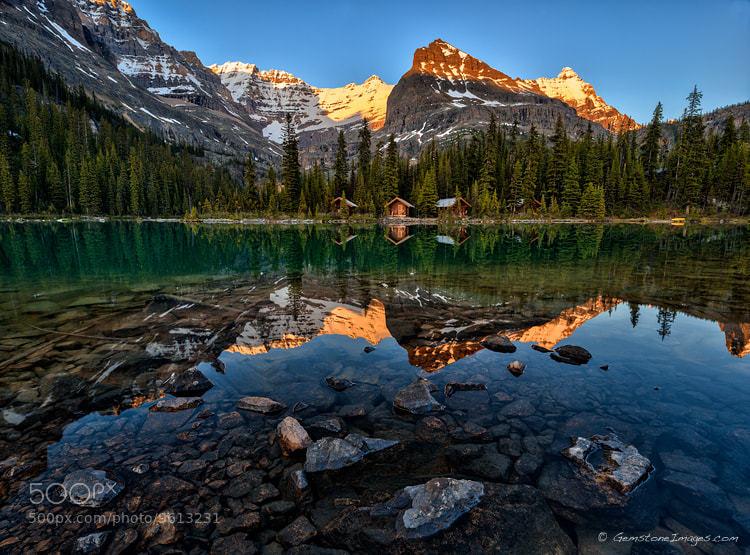 Photograph Evening at the lake... by Scott Dimond on 500px