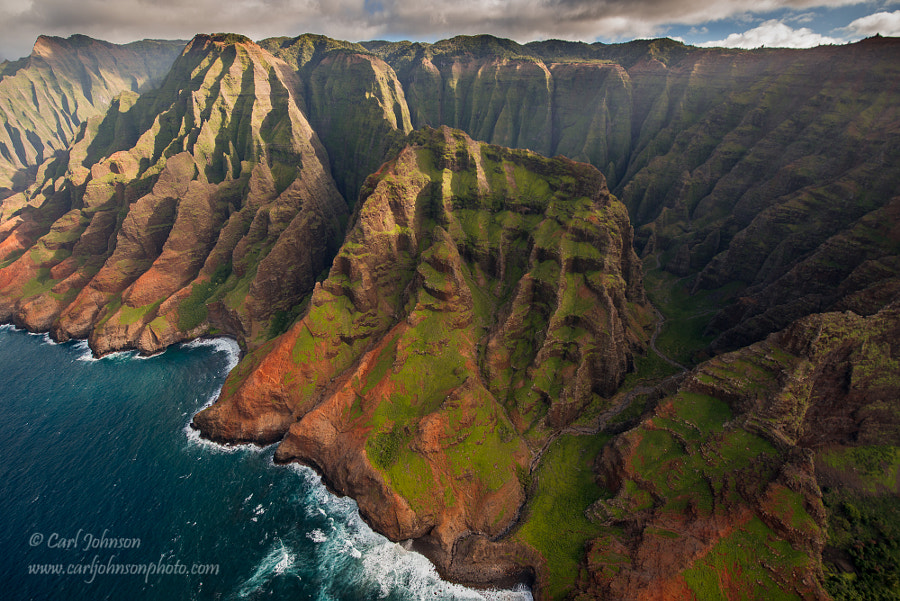 Photograph Na Pali Coast by Carl  Johnson on 500px