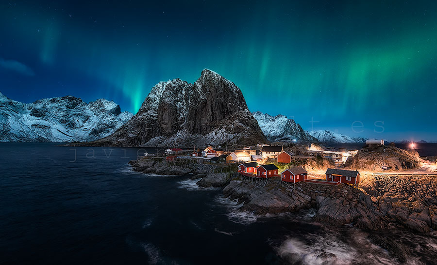 Photograph Dancing over Hamnoy by Javier de la Torre on 500px