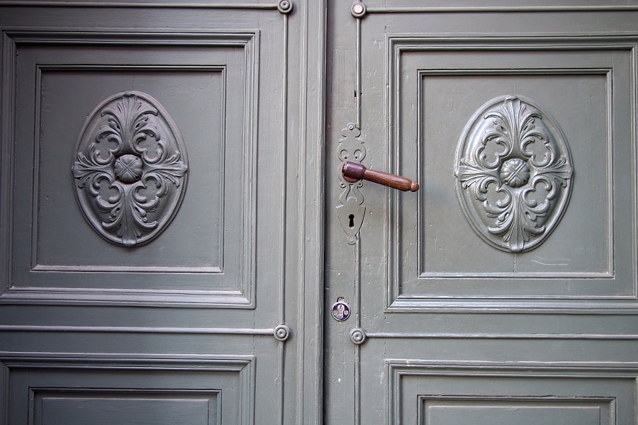Photograph Door, Riga, Latvia by parentheticalpilgrim on 500px