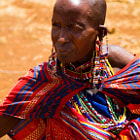 Mother of Masai Warrior