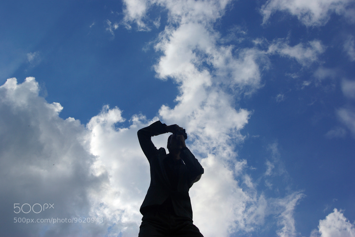 Photograph Statue Silhouette by Scott Entwistle on 500px