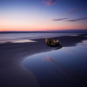 forgotten boat by Anton Shvain (antonshvain)) on 500px.com