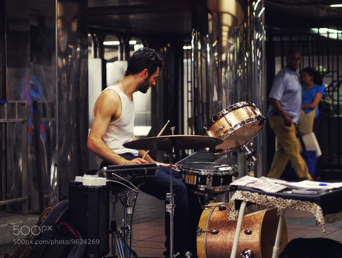 Photograph Subway Drums by Roman K on 500px