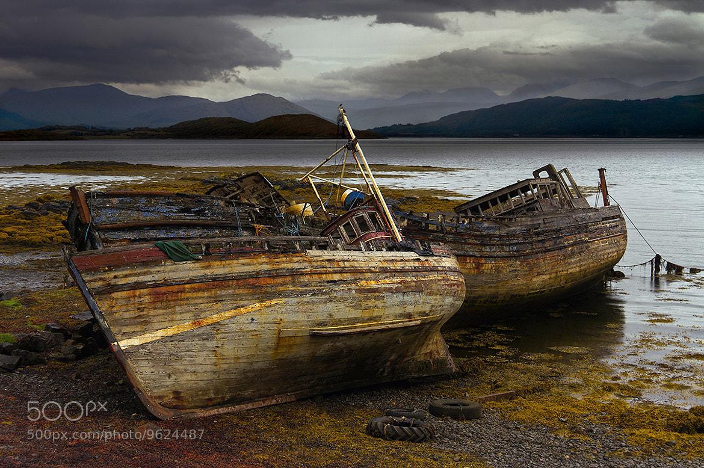 Photograph The Wrecks Of Selen by David Norton on 500px