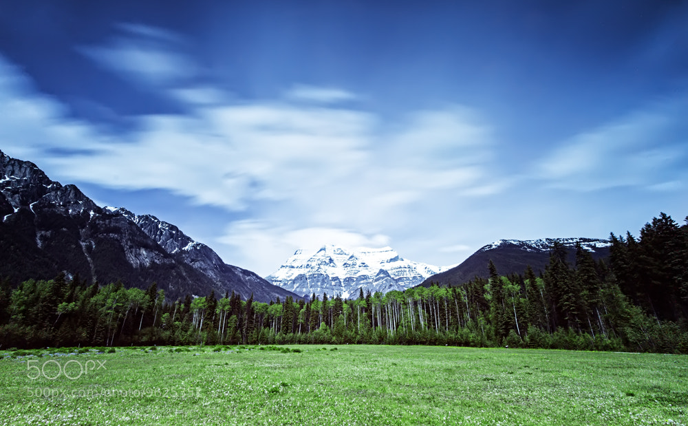 Photograph Mt.Robson - BC Canada by Philippe Brantschen on 500px