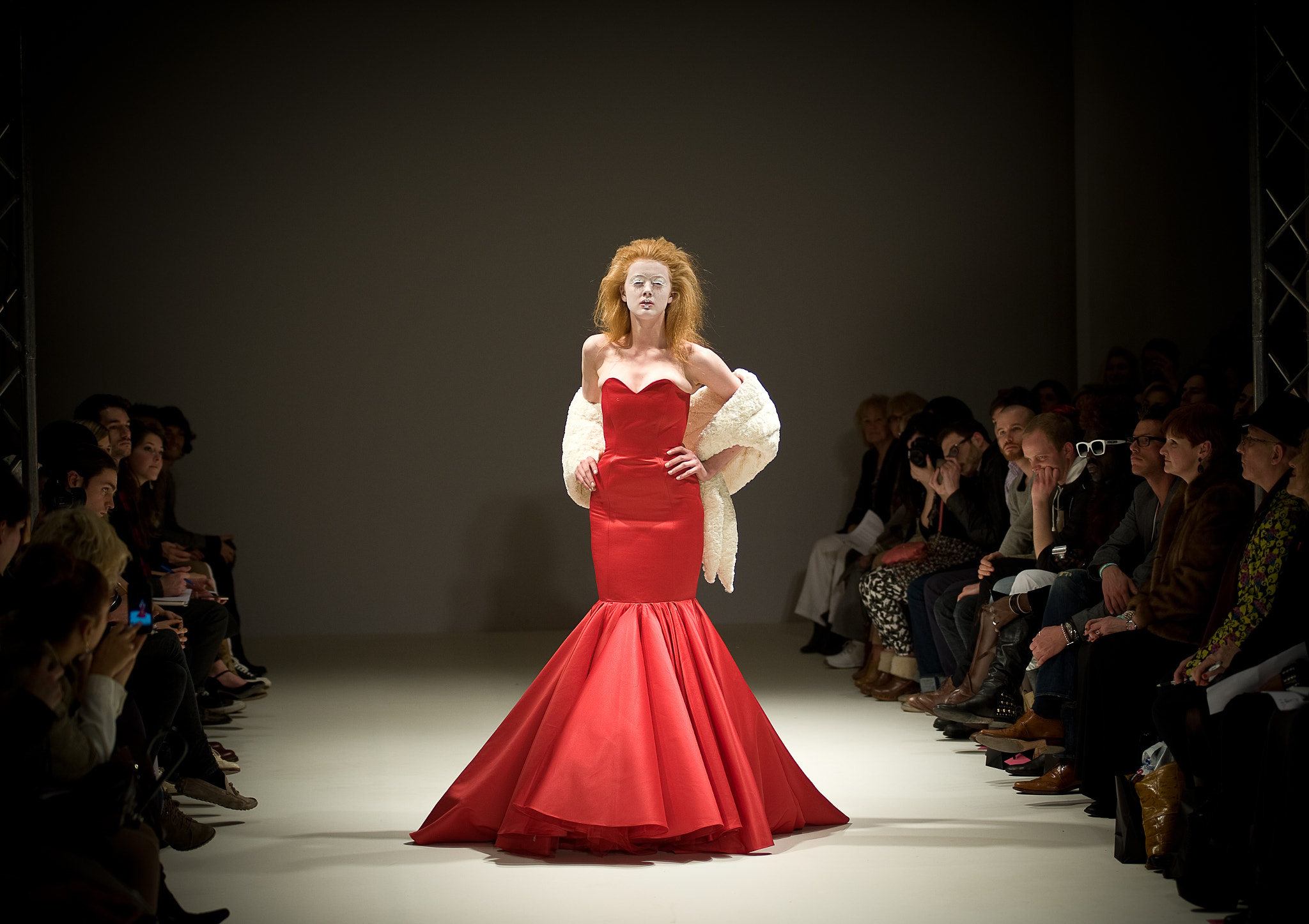 Photograph LFW: Carlotta Actis Barone by Kris Mitchell on 500px