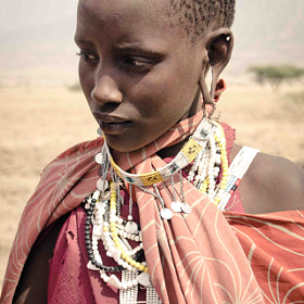 Natron Masai girl by Audrey B. (Audrey_B)) on 500px.com