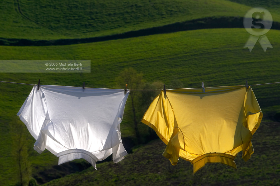 Photograph Shirts drying (April 2005) by michele berti on 500px