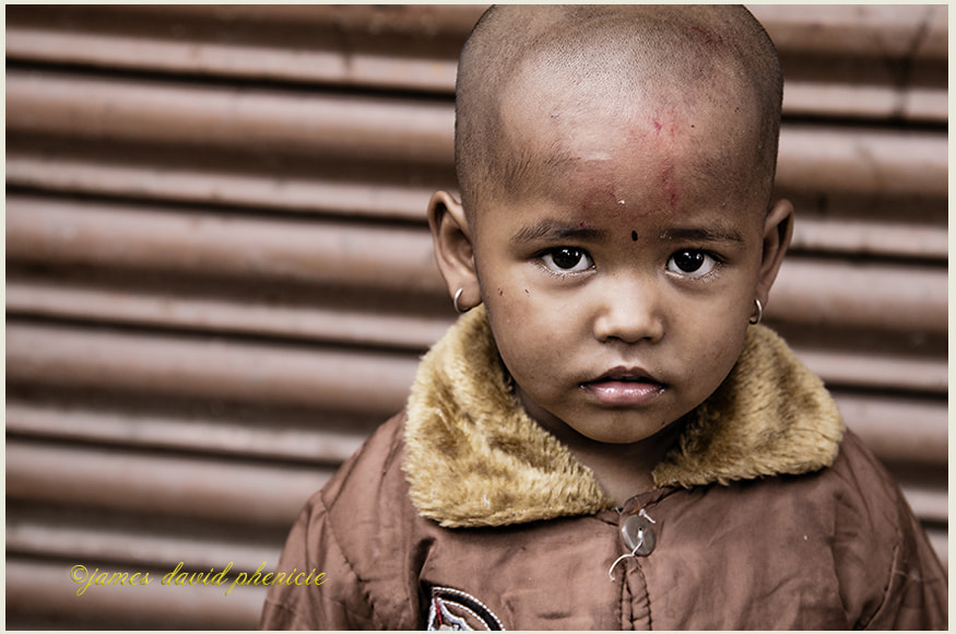 Nepal Series:  The Stare
