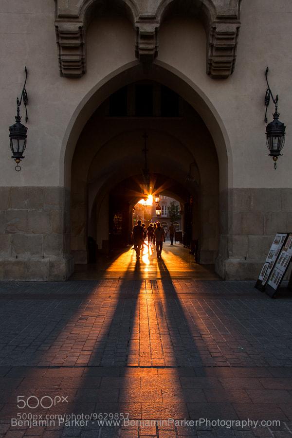 Photograph Krakow Sunset by Benjamin Parker on 500px