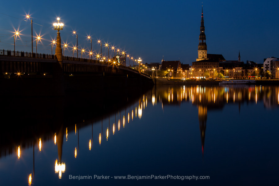 Photograph Riga Dusk by Benjamin Parker on 500px