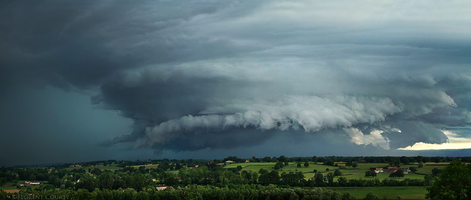 Photograph Anticyclonic Supercell by Florent Courty on 500px