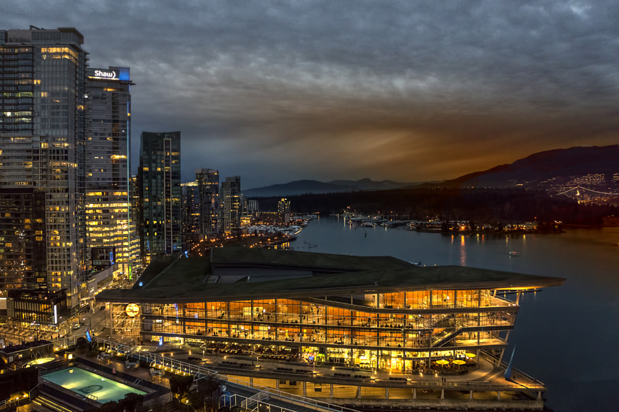 most beautiful cities in the world - Vancouver Nights by Brenda bryson on 500px.com