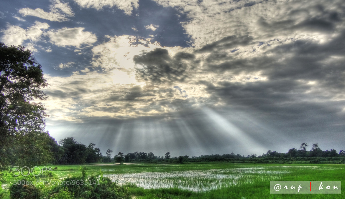 Photograph ..rays from heaven.. by Rupam konwar on 500px