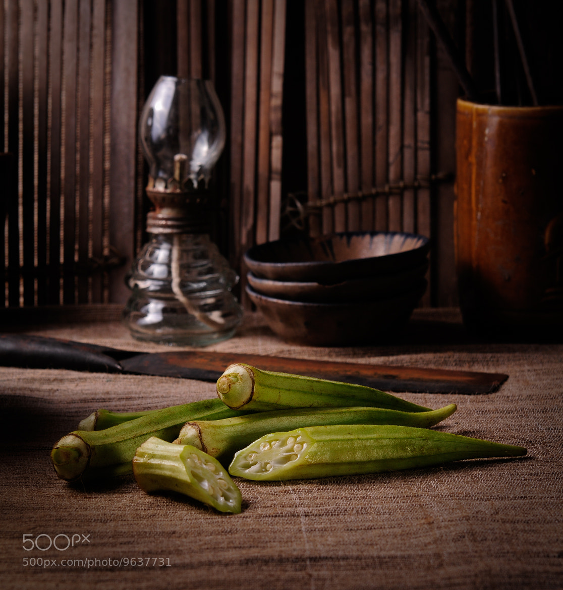 Photograph Đậu bắp - Vietnamese Ingredients by Egret Grass on 500px