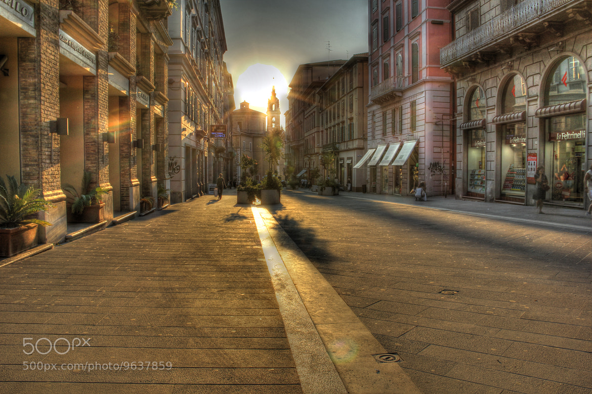 Photograph Long shadows in Ancona by Antonio M. on 500px