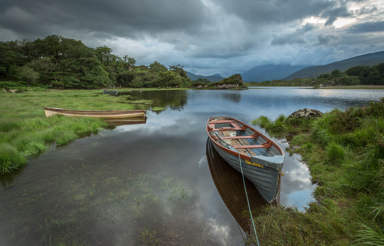 Photograph Boats on the Upper Lake Killarney by Lawrence Wheeler on 500px