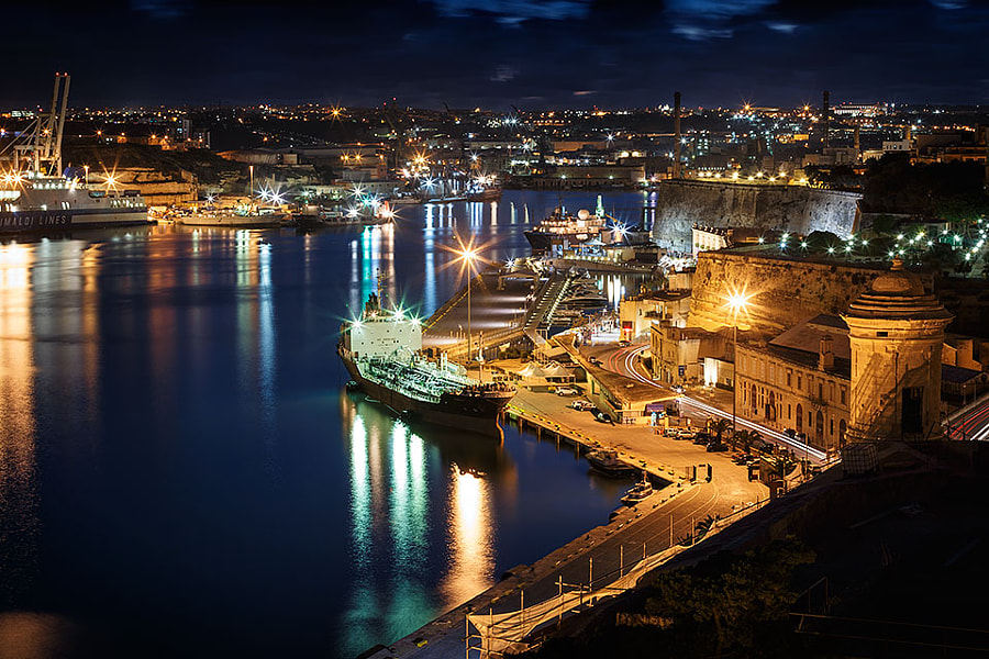 Malta, Grand Harbour by Antonio Violi on 500px.com
