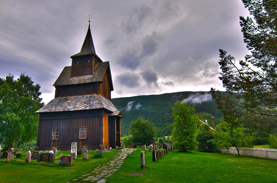 Photograph church by Therese Floen on 500px