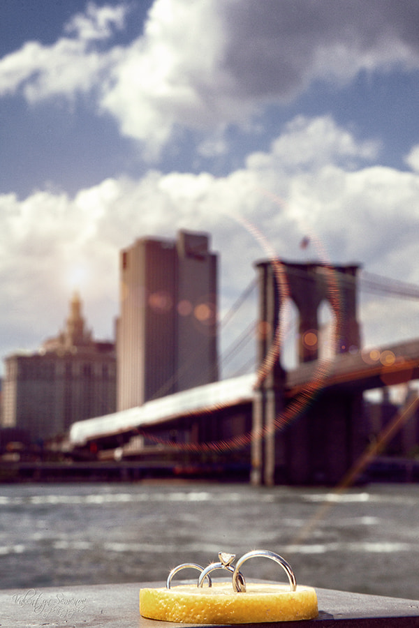Photograph rings on a background of New York by Valentyn Semenov on 500px