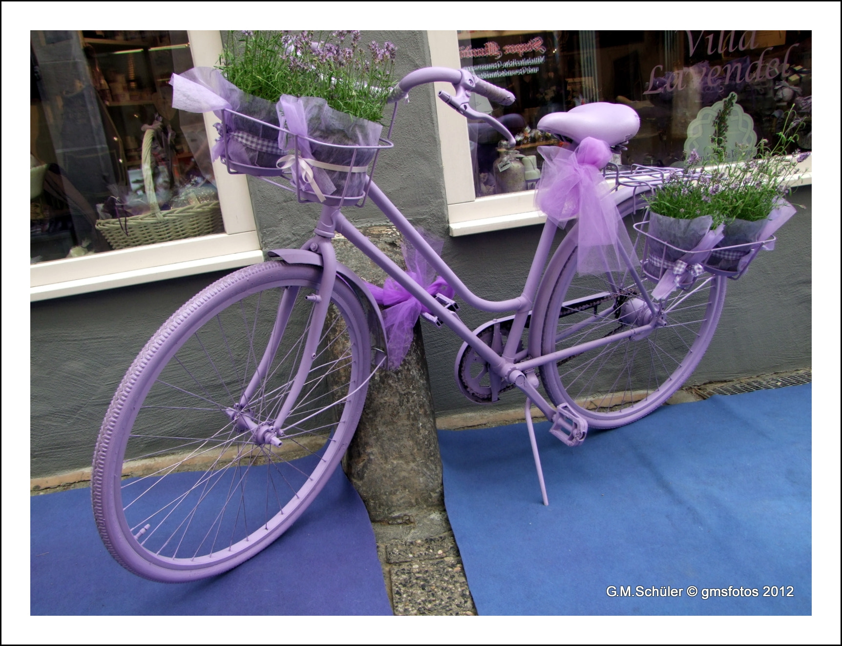 Photograph Lavender color bike by G. Matthias  Schüler on 500px