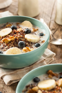 Organic Breakfast Quinoa with Nuts by Kimberly Potvin on 500px