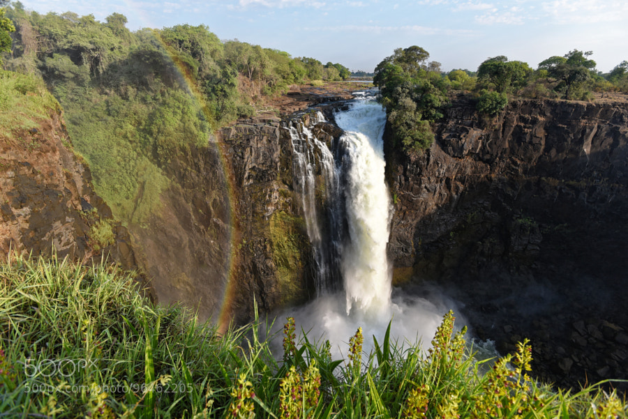Victoria falls – Devils stream by fototomcz