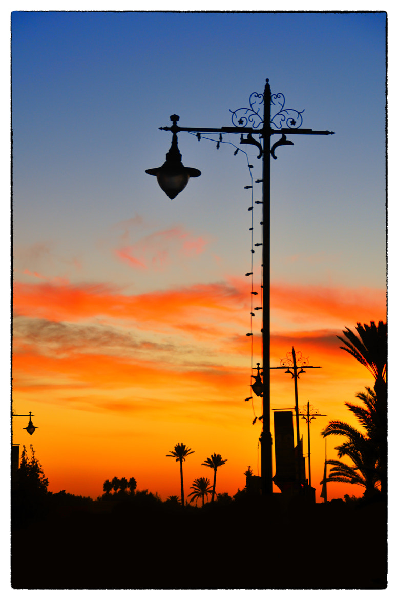 Photograph Sunset Marrakech by Gareth Cooper on 500px